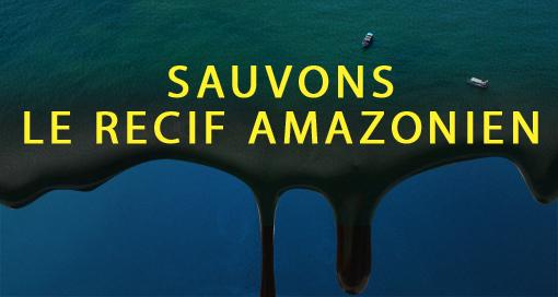 barrière de corail dans l'Amazone