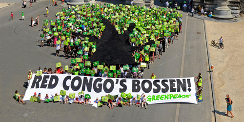 Photo manifestation forêts du Congo